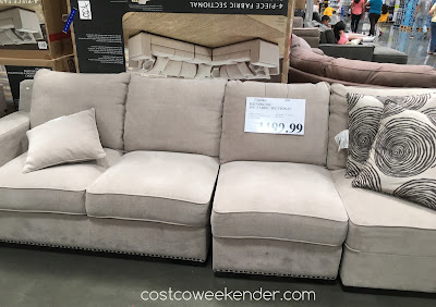 Bainbridge 4-piece Fabric Sectional - the perfect sectional for your living room