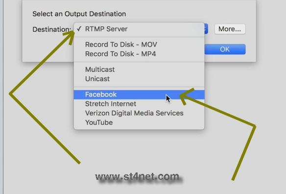 طريقتين لعمل بث مباشر فيس بوك من جهاز كومبيوتر عوض الهاتف wirecast