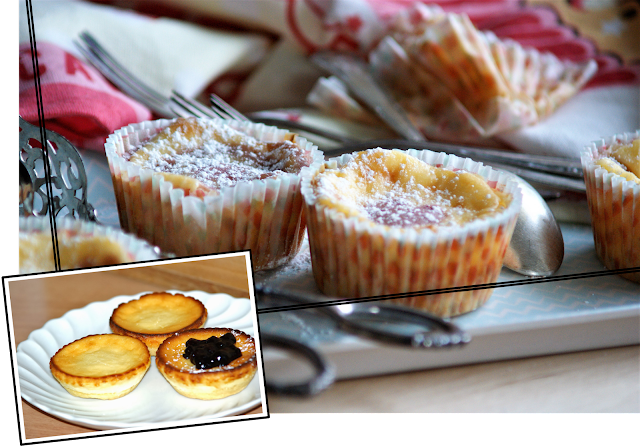 Cheesecake Cupcakes | Blogevent RE•CREATE