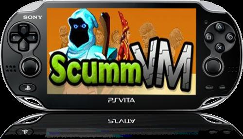 PS Vita v1.06 scummvm_mod e v0.5 ScummVM Playstation Vita