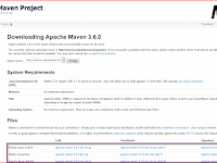 How to install Apache maven on windows system