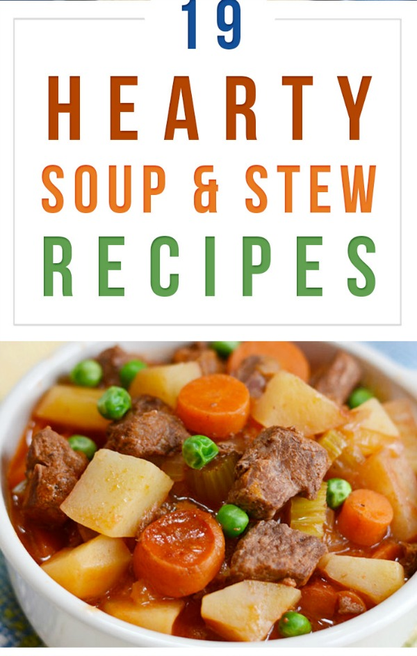 Hearty Soup and Stew Recipes from Tuxedo Cats and Coffee