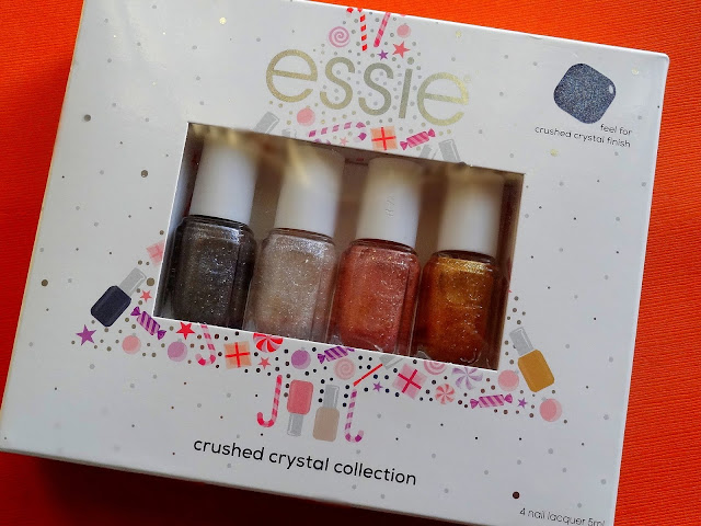 Essie Crushed Crystal Holiday 2018 Collection |  Essie Concrete Glitters