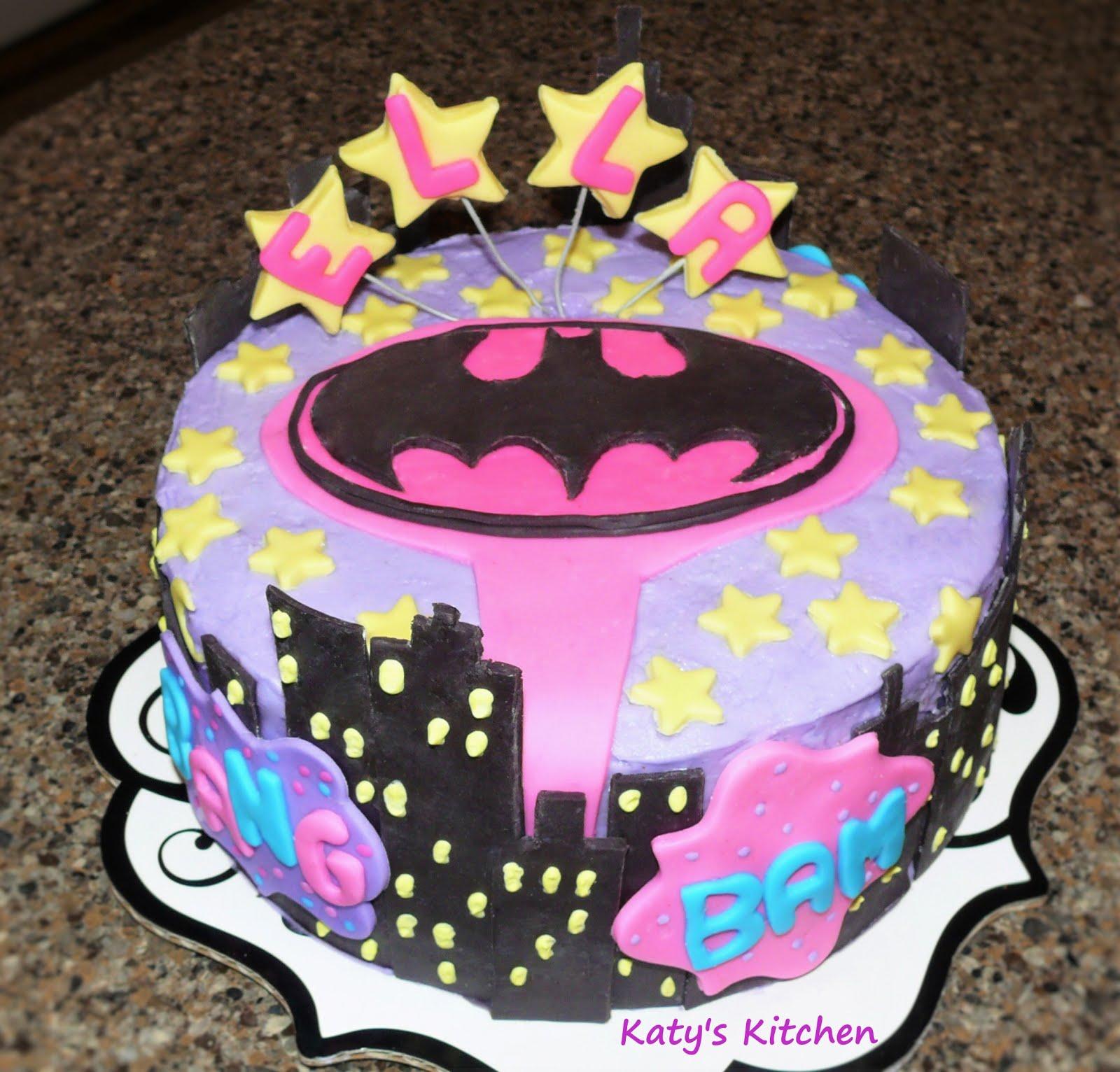 Batgirl Cake Pops