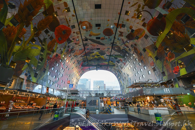 鹿特丹, Rotterdam, 荷蘭,holland, netherlands, Markthal