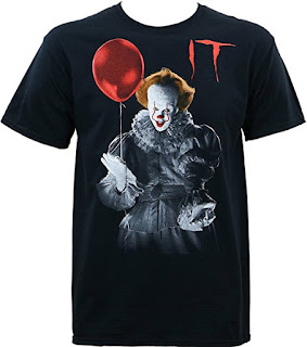 Stephen King, It, Pennywise T Shirt, Stephen King It Gifts and Merchandise, Stephen King Store