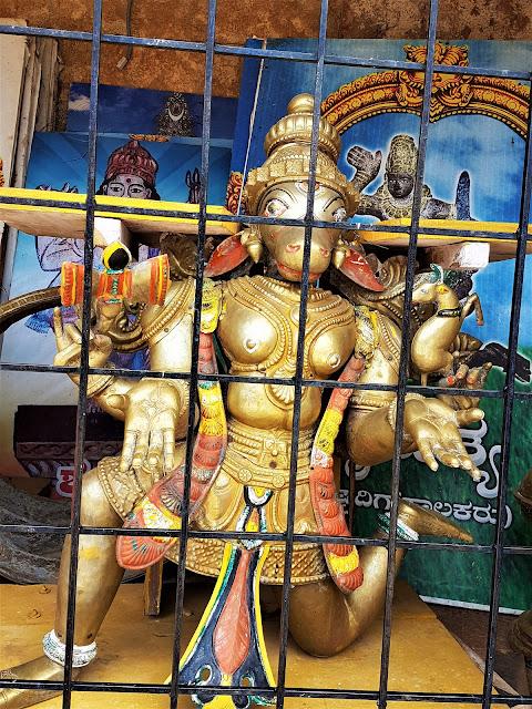 Nandi Vahana at Bhoga Nandeeshwara Temple