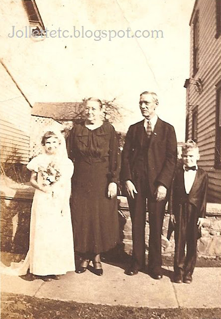 Laura and Will Sullivan Anniversary 1936 https://jollettetc.blogspot.com