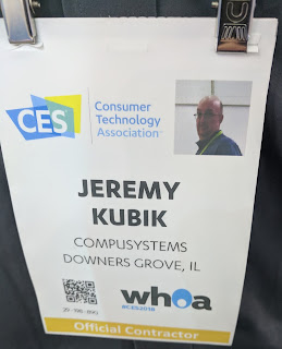 CES Print On-Demand Color Badges