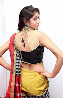 Naziya Khan Model in Saree At Kala Silk Handloom Expo Dec 2017~  Exclusive Galleries 008.jpg
