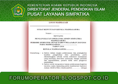 Download SK Operator Simpatika