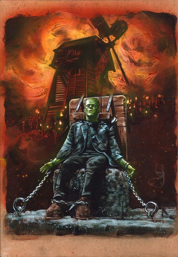 Frankenstein Artwork© Jeff Lafferty 2015