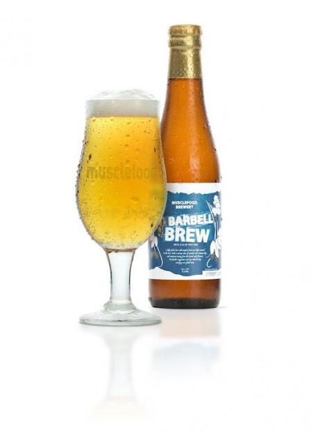 Cerveza Barbell Brew alta en proteína y baja en carbohidratos