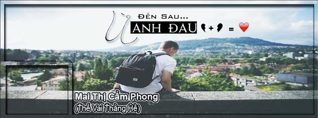 Share PSD ảnh bìa : Đến sau ừ anh đau ( Mai Thị Cẩm Phong )