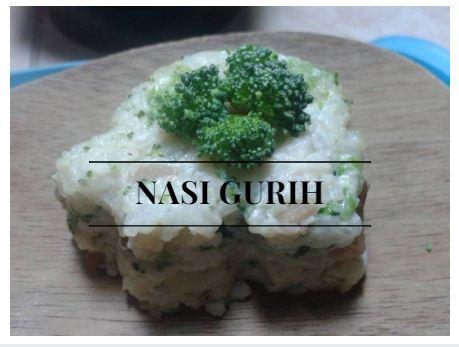 Resep MPASI: Nasi Gurih