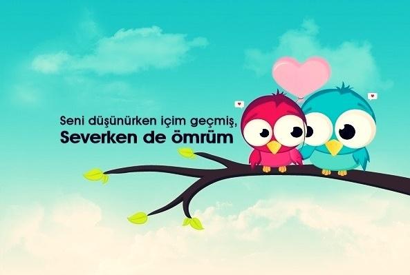 kalp, mavi gökyüzü, engili bird, bird, kuş, kuşlar, özlü sözler, aşk sözleri, güzel sözler