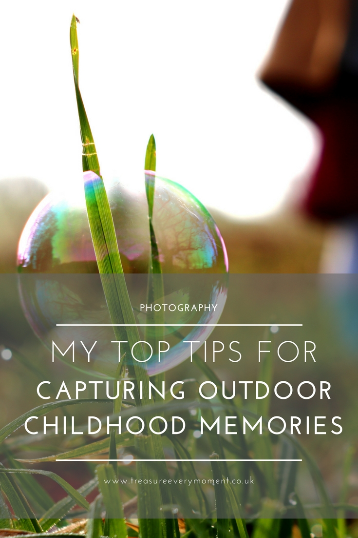PHOTOGRAPHY: My Top Tips for Capturing Outdoor Childhood Memories