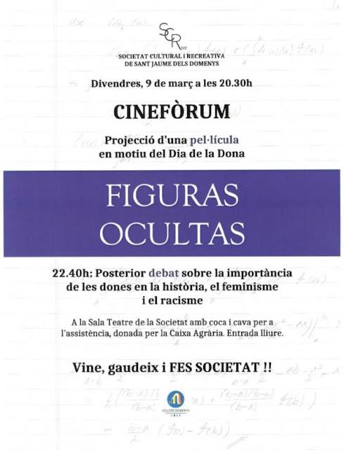 Esguard de Dona -  Cineforum - Figueres Ocultes - Divendres 9 de març de 2018 - 20.30 h