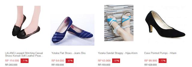kumpulan sepatu wanita terbaru