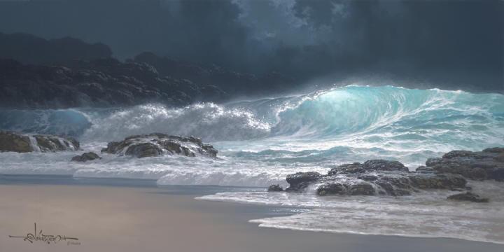 Roy Tabora. Морские пейзажи 19