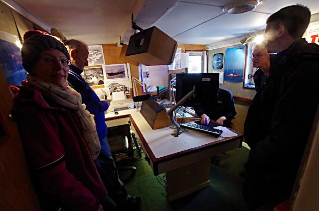Radio Caroline, Ross Revenge, studio, boat trip