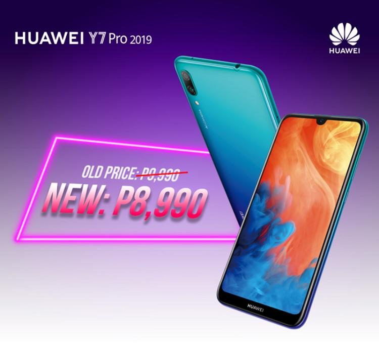 Huawei Y7 Pro 2019, Y9 2019 and Nova 3i Get Price Drops