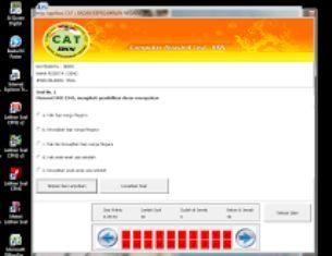 Aplikasi Software Cat CPNS Offline, Aplikasi offline tes cpns 2017 cat