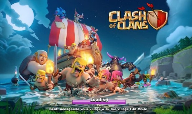 Game RTS Android - Clash of Clans