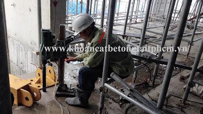 Khoan cắt bê tông tại huyện Hòa Thành