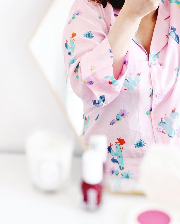asos cactus pyjamas
