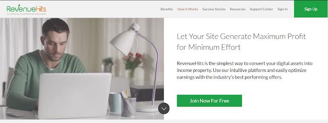 Cara Memasang Iklan di RevenueHits