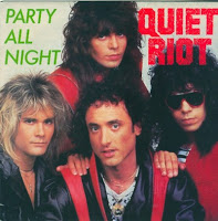 "Το single των Quiet Riot ""Party All Night"""