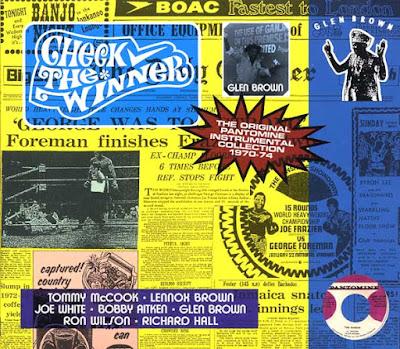 GLEN BROWN - Check The Winner: The Original Pantomine Instrumental Collection 1970-74 (2016)