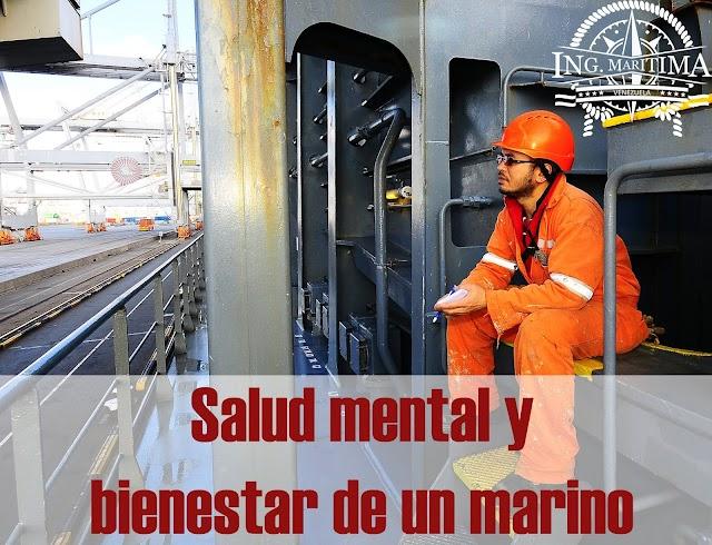 Salud mental y bienestar de un marino