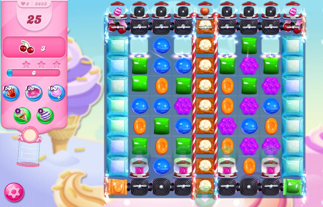 Candy Crush Saga level 5853
