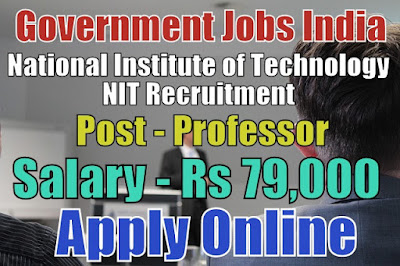 National Institute of Technology NIT Recruitment 2018 Patna