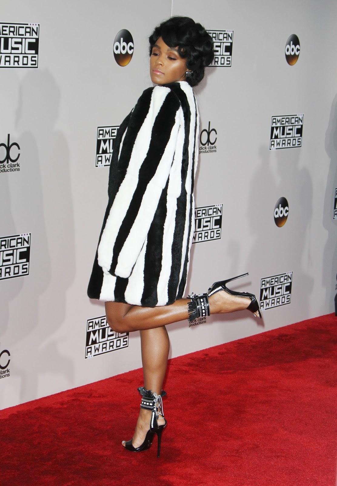 Janelle Mon 225 E Red Carpet Photos Amp Shoes Meeko Spark Tv