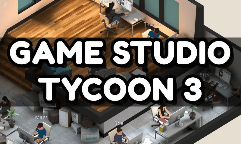 Game Studio Tycoon 3 Turkce Android FULL APK