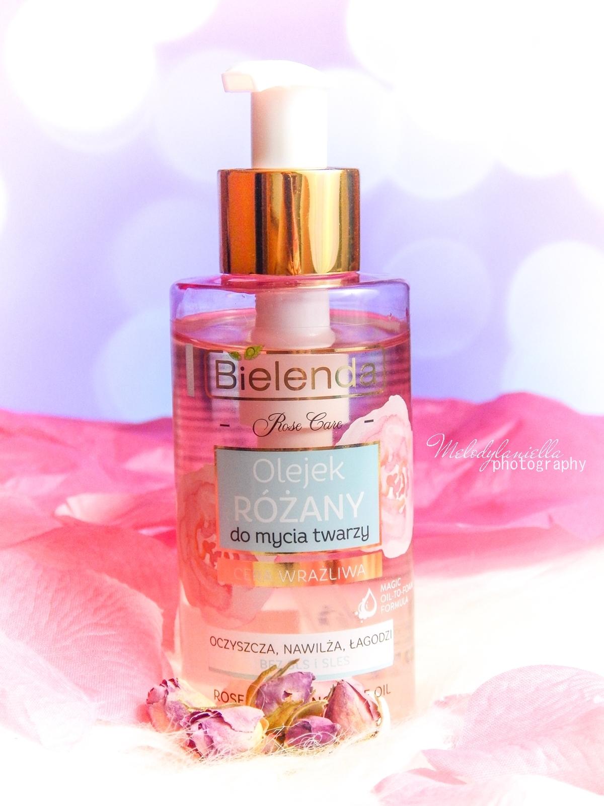 9 Bielenda rose care różany krem do twarzy recenzja kojąca woda różana 3w1 olejek różany do mycia twarzy produkty bielenda seria różana melodylaniella test produktów kosmetycznych ciekawe blogi lifestyle
