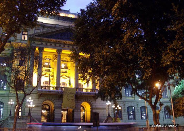 Fachada da Biblioteca Nacional, Rio de Janeiro