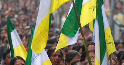 Gorkhaland rally in dooars