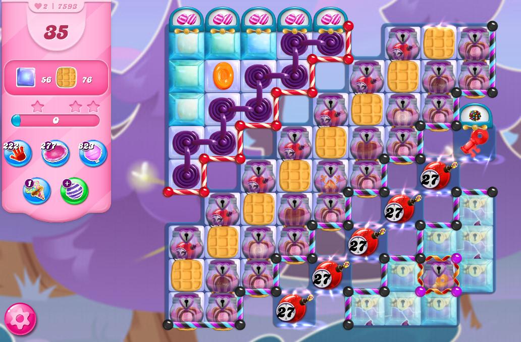 Candy Crush Saga level 7593