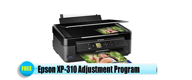 Epson  XP-310 Adjustment Program