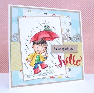 Heather's Hobbie Haven - Rainy Days Card Kit