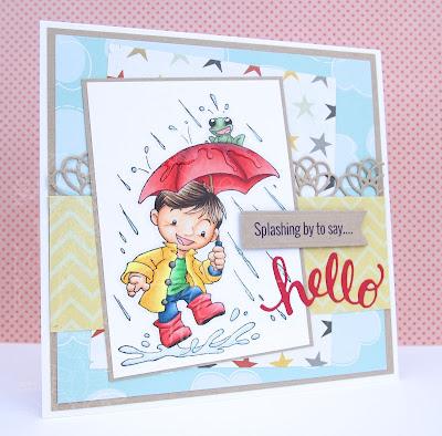 Heather's Hobbie Haven - Rainy Days Card Kit