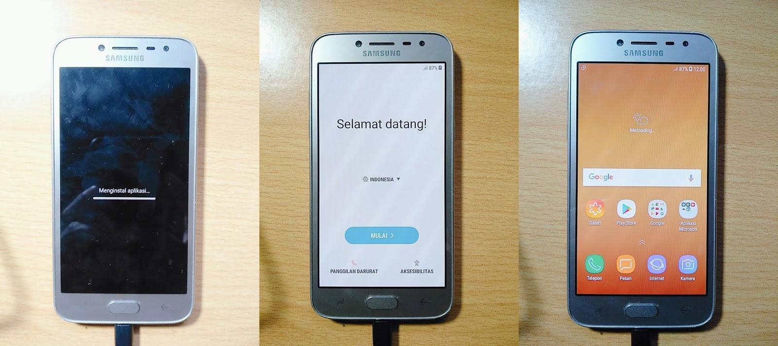 Cara Flash Samsung J2 Pro SM-J250F