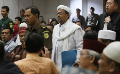 CERDAS! SIDANG AHOK: Kesaksian Habib Rizieq Bikin Kubu Ahok Terdiam
