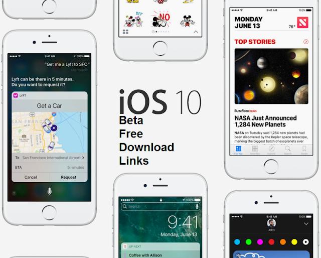 iOS 10.1 Beta Download Links