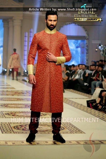 Designer Munib Nawaz at TBCW-2014