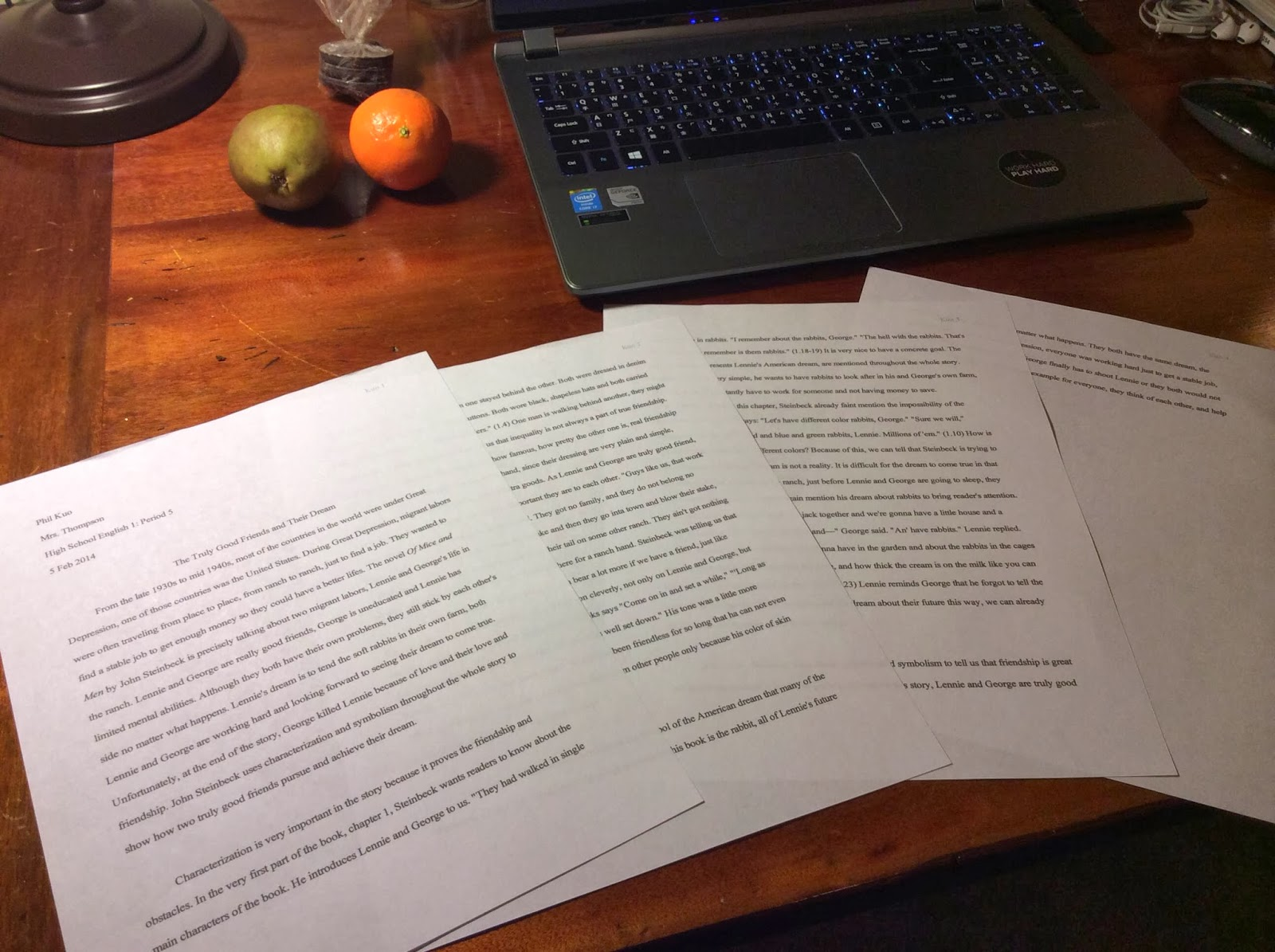 the first formal essay i have ever written phil s america both classes require students to write essay or article i just finished writing a formal essay in english 1 class recently and i would like to share